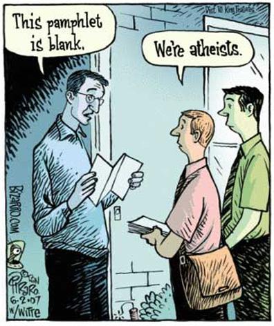 Tenho vergonha de ser ateu