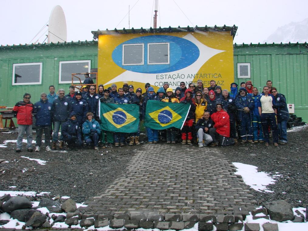 Entrevista sobre a Antártida