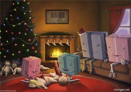 Presentes de Natal científicos