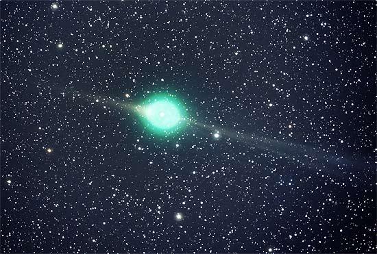 O cometa e a astrologia da crise.