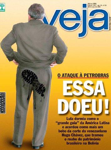 Revista Veja quebra o côco científico mas não arrebenta a sapucaia