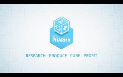 Seja o dono de uma grande farmacêutica, seu porco capitalista!