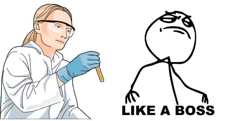 like a boss science