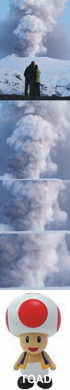 vulcão super tenso
