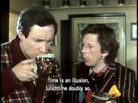 """""""Todo o tempo é relativo. A hora do almoço é duplamente relativa."""""""