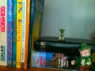 A seção de fantasia da minha biblioteca