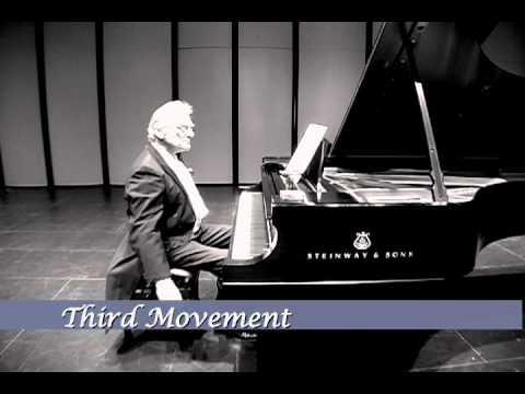 """Terceiro movimento da composição 4'33"""", já se aproximando do clímax."""
