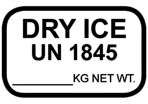 DRY ICE UN 1845