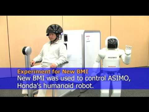 Honda cria robô que se move pela força do pensamento