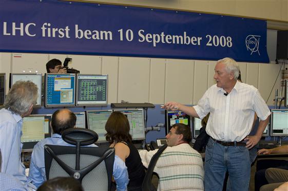 O LHC foi ligado hoje!