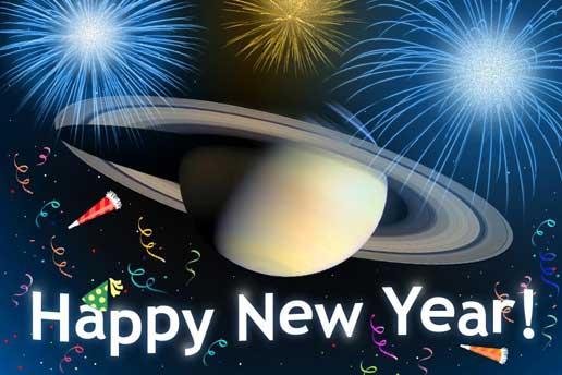 Como se diz Feliz Ano Novo em cientifiquês