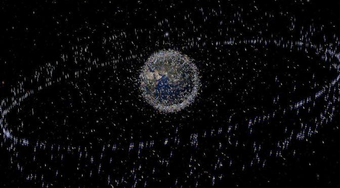 Veja imagens da colisão entre satélites americano e russo