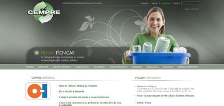 Site possui banco de dados sobre reciclagem