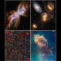 O Hubble voltou a funcionar!