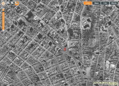 Imagens de satélite do ano de 1958