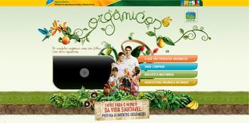 Ministério tem site apenas sobre orgânicos