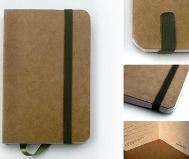Xis-xis sorteia dois cadernos de bolso reciclados