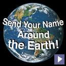 Mande seu nome para o espaço