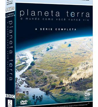 """Sortudos ganharam a série completa do documentário """"Planeta Terra""""!"""