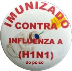 Eu tomei a vacina contra a gripe H1N1
