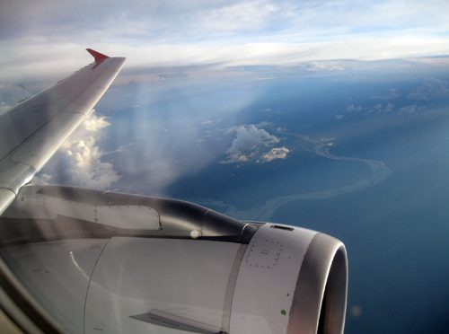 Vamos vaporizar inseticida no avião