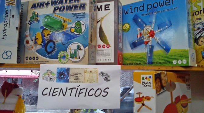 Brinquedos científicos, tecnológicos e sobre a conservação do meio ambiente