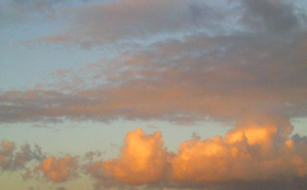 Com a cabeça nas nuvens