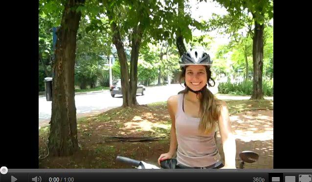 Vou de bike