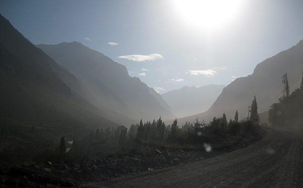 Luzes misteriosas na Cordilheira dos Andes
