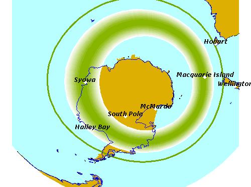 Você sabia que existe a aurora austral?
