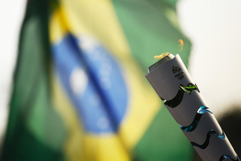 RJ - RIO-DE-JANEIRO - 04/08/2016 - REVEZAMENTO DA TOCHA RIO 2016 - Revezamento da Tocha Olimpica para os Jogos Rio 2016. Foto: Rio2016/Fernando Soutello